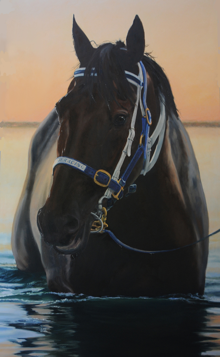 lyn-beaumont-artist-equine-black-caviar-3-sold
