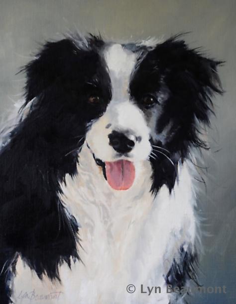 Lyn-Beaumont-artist-Dogs-Arabian-Aura-40x50cm-Commission