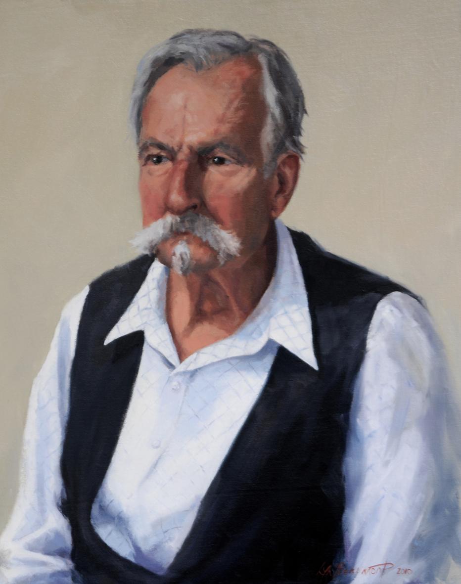 Lyn-Beaumont-artist-Portraits-Dr-Arthur-Ellis