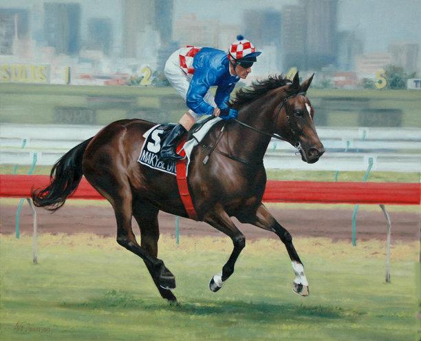 Australia's Champion Racehorse 2005, Makybe Diva