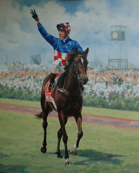 Australia's Champion Racehorse 2005-2006, Makybe Diva